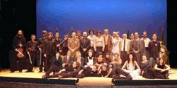 El Mort, tots els actors a l'escenari