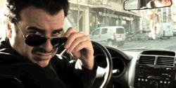 Carles Bigorra interpretant a un taxista